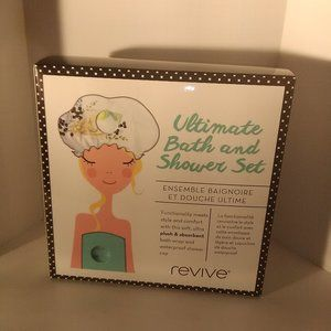Ultimate Bath and Shower Gift Box Set New Terry